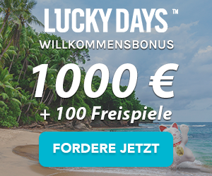 luckydays online casino